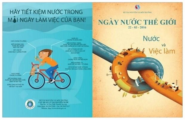 Journee mondiale de l'eau: L'eau et l'emploi hinh anh 1