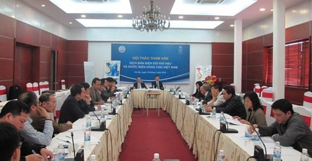 Climat : elaboration d'un nouveau scenario pour le Vietnam hinh anh 1