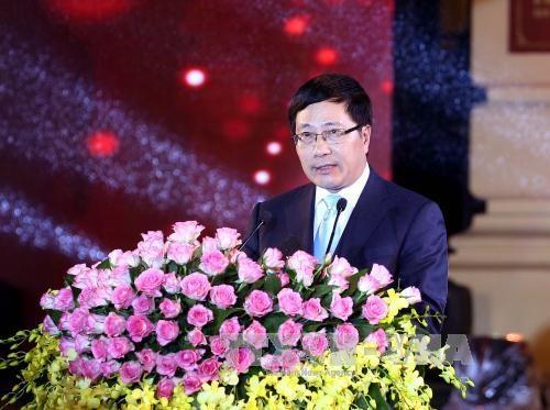 Le vice-PM Pham Binh Minh a la reunion des dirigeants de la cooperation Mekong-Lancang hinh anh 1