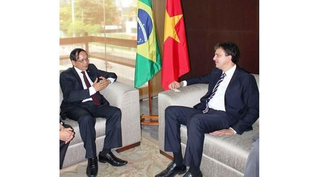 Promouvoir la cooperation entre le Vietnam et l'Etat de Ceara du Bresil hinh anh 1