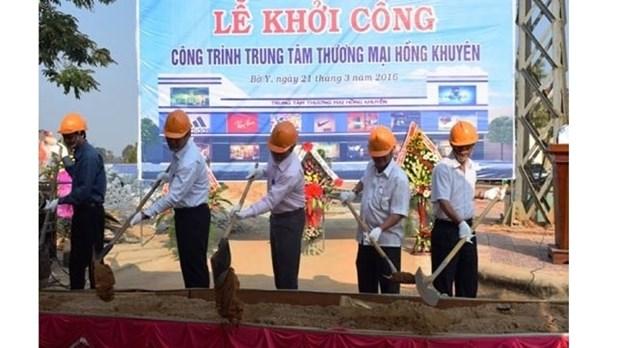 Mise en chantier de deux projets a la porte frontaliere de Bo Y hinh anh 1