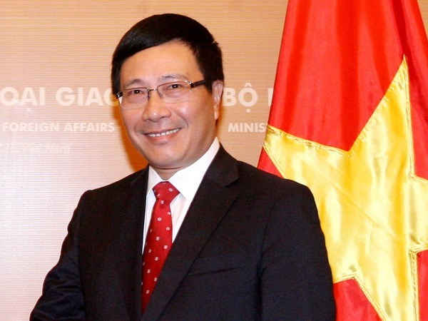 Contributions actives du Vietnam a la cooperation Mekong-Lancang hinh anh 1
