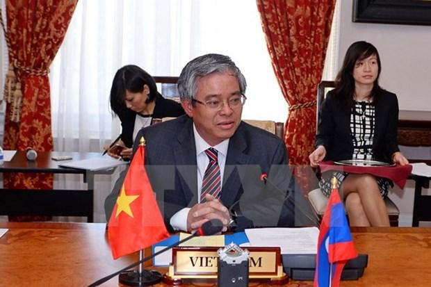 Le Vietnam preside la reunion du Comite de l'ASEAN a Washington hinh anh 1