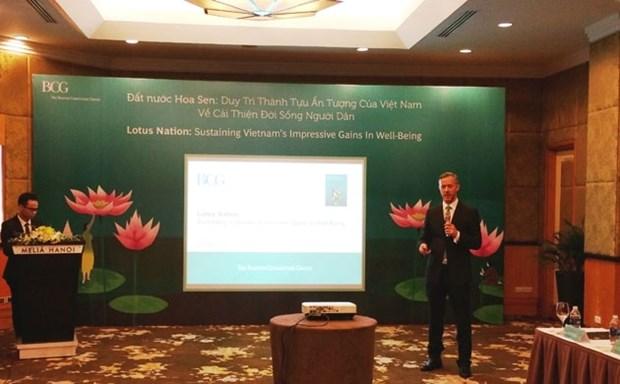 Conversion de la richesse en bien-etre social : le Vietnam classe 4e mondial hinh anh 1