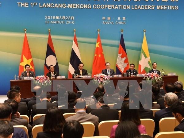 Contributions actives du Vietnam a la cooperation Mekong-Lancang hinh anh 2