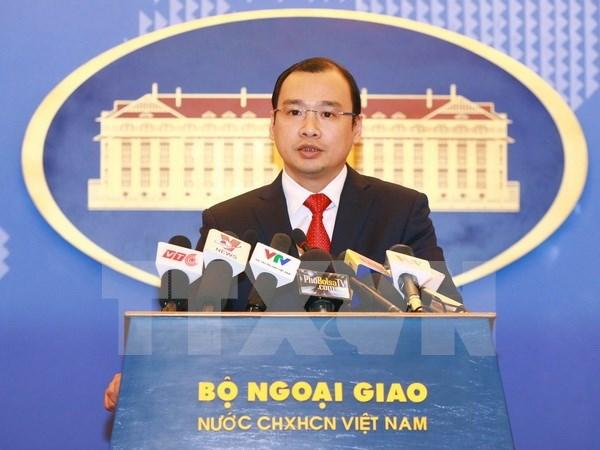 Le Vietnam demande a Taiwan de respecter sa souverainete hinh anh 1