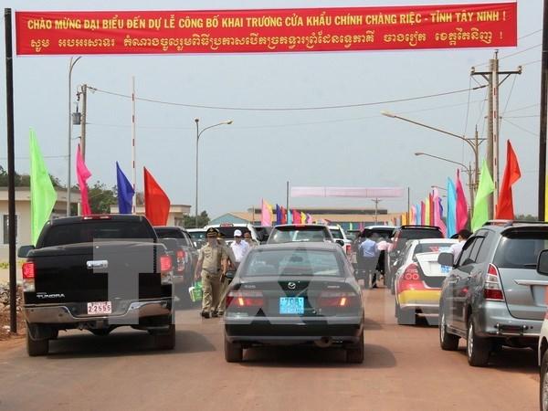 Tay Ninh a une deuxieme porte frontaliere principale avec le Cambodge hinh anh 2