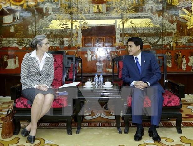Hanoi coopere avec les Pays-Bas dans la gestion de l'eau et urbaine hinh anh 1