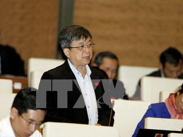 Les deputes continuent de debattre de differents projets de loi hinh anh 1