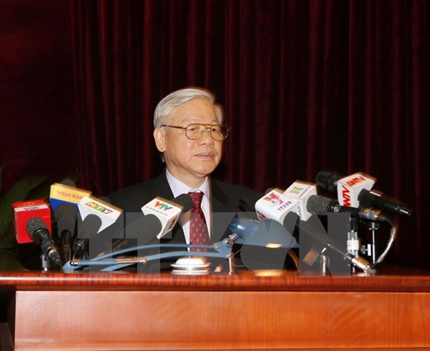 Le travail du personnel demande les personnes integres et pures, dit le chef du Parti hinh anh 1