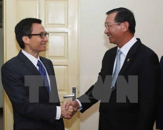 Vietnam et Cambodge cooperent dans l'industrie et l'investissement hinh anh 1