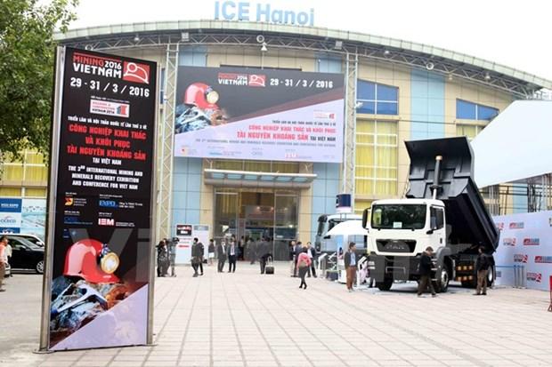 Ouverture de la 3e exposition internationale sur l'exploitation miniere hinh anh 1
