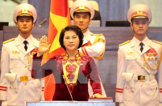 Election de Nguyen Thi Kim Ngan a la presidence de l'Assemblee nationale hinh anh 1