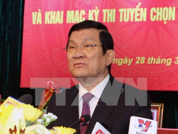 L'AN libere Truong Tan Sang de ses fonctions de president du Vietnam hinh anh 1