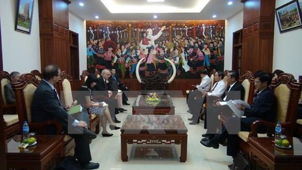 L'ambassadeur americain pour la liberte religieuse internationale en visite au Vietnam hinh anh 1