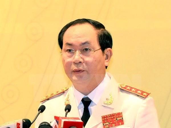 Biographie du nouveau president vietnamien Tran Dai Quang hinh anh 1