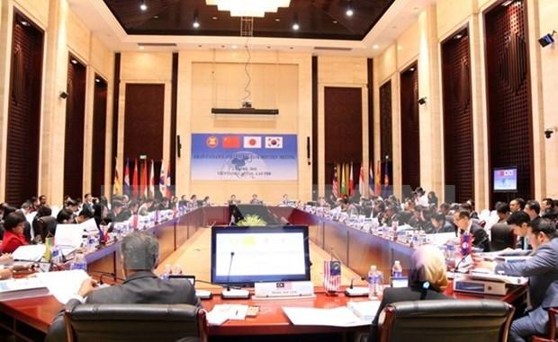 Les responsables financiers de l'ASEAN se reunissent a Vientiane hinh anh 1