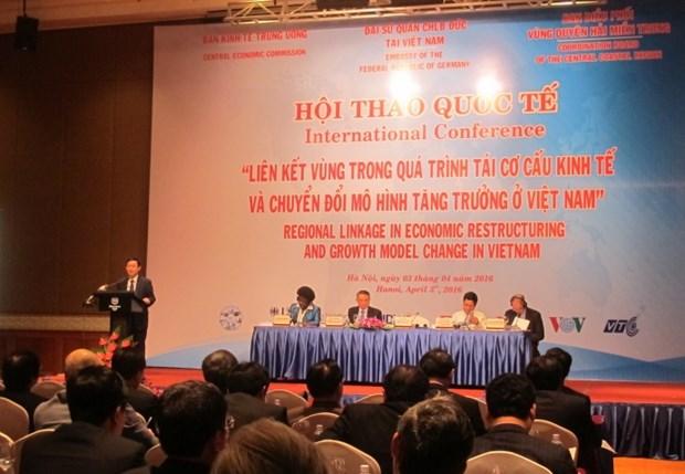 Connexion regionale dans la restructuration economique du Vietnam hinh anh 1
