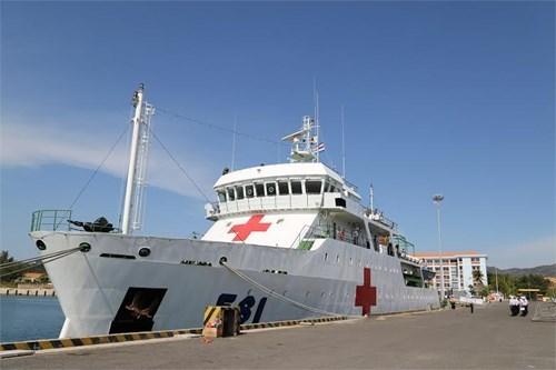 Le navire-hopital vietnamien HQ-561 pret pour l'exercice naval KOMODO 2016 hinh anh 1
