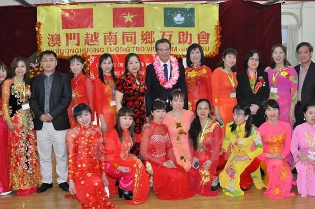 La communaute des Vietnamiens a Macao s'oriente vers le pays natal hinh anh 1