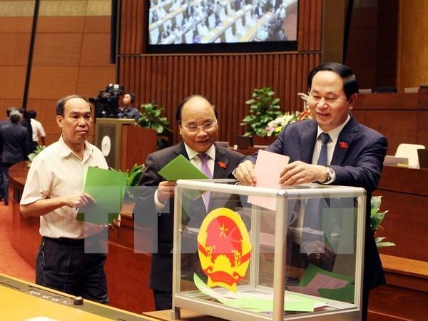 Elections pour certains postes importants a l'Assemblee nationale hinh anh 1