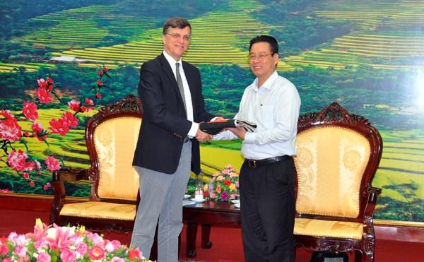 L'Australie aide Ha Giang a lutter contre la pauvrete hinh anh 1
