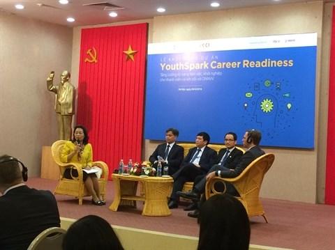Microsoft accompagne les jeunes vietnamiens sur le marche de l'emploi hinh anh 1