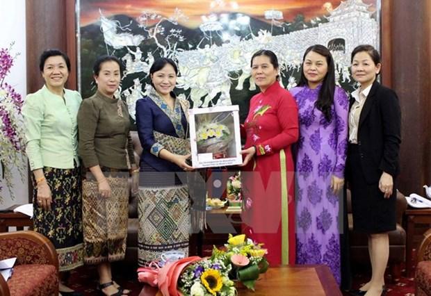 Vietnam-Laos : la cooperation entre les Unions des femmes se renforce hinh anh 1