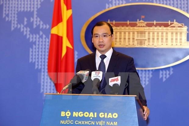 Le Vietnam demande a la Chine de mettre fin aux actions complixifiant la situation en Mer Orientale hinh anh 1