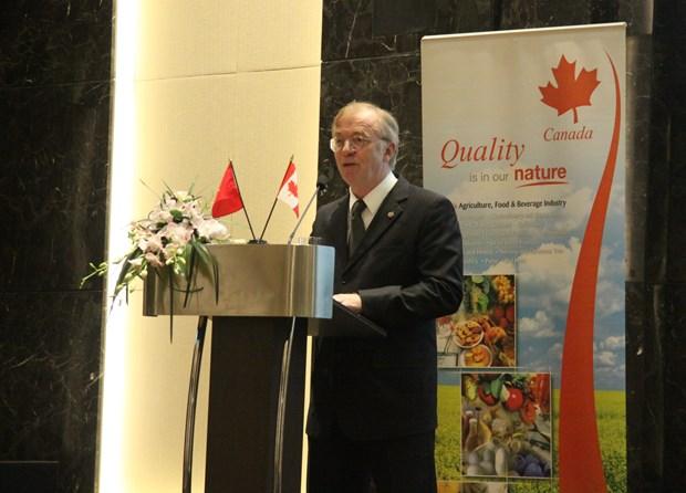 Seminaires pour promouvoir le porc canadien aupres des acheteurs vietnamiens hinh anh 1