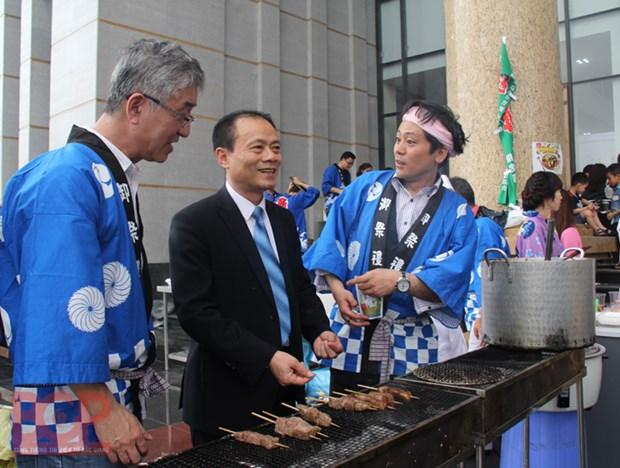 Presentation de la culture japonaise a Bac Giang hinh anh 1