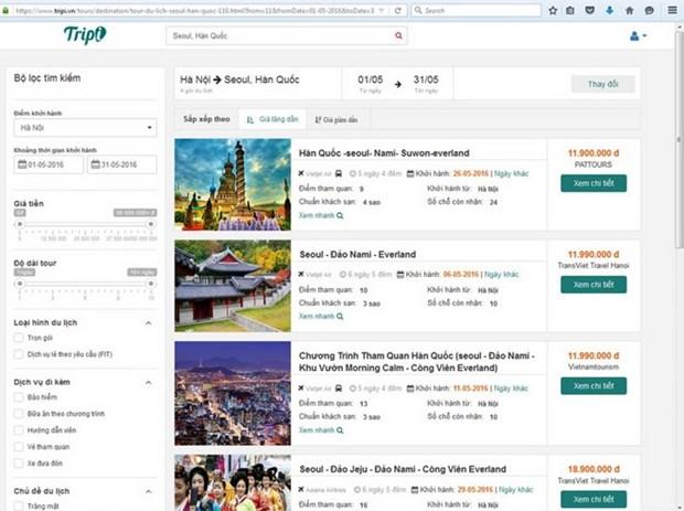 Lancement d'un site d'e-tourisme du Vietnam hinh anh 1