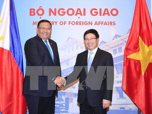 Vietnam et Philippines promeuvent leur partenariat strategique hinh anh 1