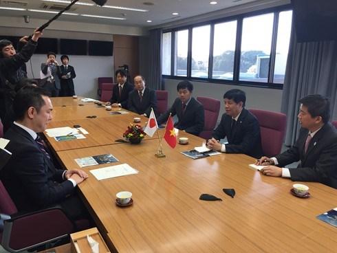 La prefecture de Mie (Japon) souhaite renforcer sa cooperation avec le Vietnam hinh anh 1