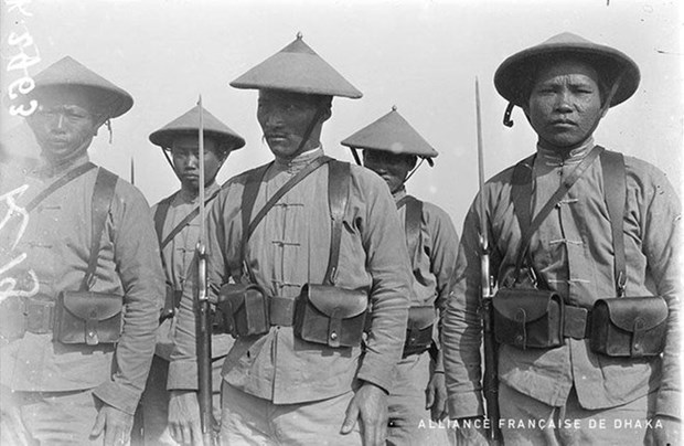 Exposition sur les travailleurs indochinois a Toulouse pendant les deux guerres mondiales hinh anh 1