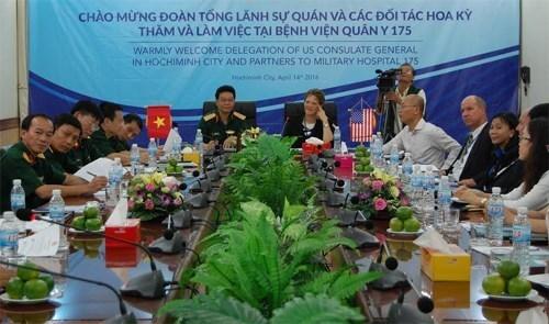 Vietnam et Etats-Unis cherchent a cooperer dans la medecine militaire hinh anh 1