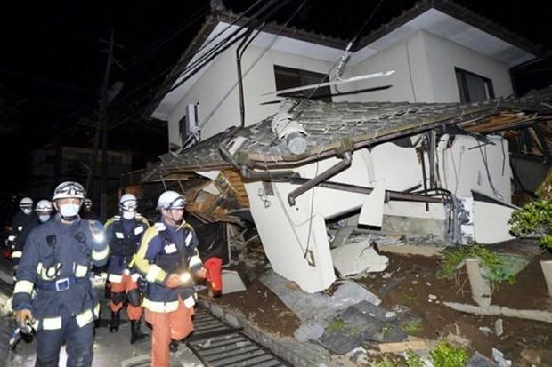 Seismes au Japon : le Vietnam adresse ses condoleances au peuple japonais hinh anh 1