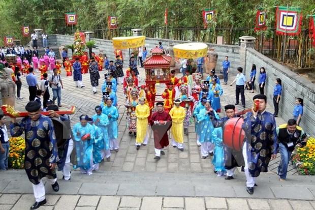 La Fete du temple des rois Hung celebree dans le pays hinh anh 1
