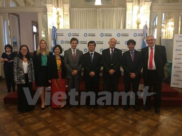 Le Vietnam participe aux echanges commerciaux Mercosur-ASEAN hinh anh 1