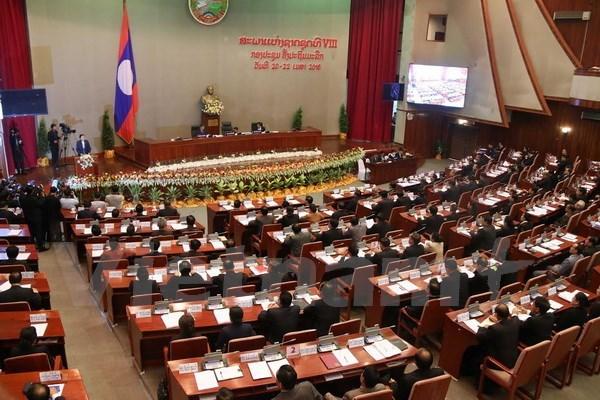 Ouverture de la premiere session de l'Assemblee nationale laotienne (8e legislature) hinh anh 1
