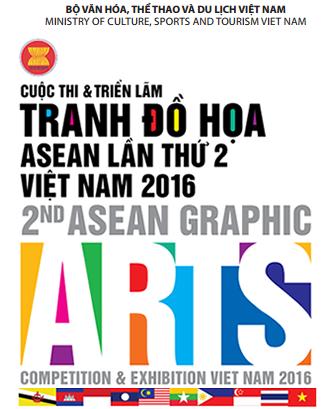 La deuxieme exposition des arts graphiques de l'ASEAN en decembre hinh anh 1