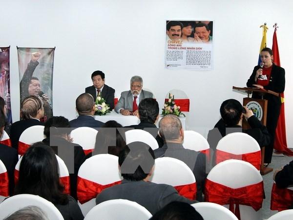 Commemoration de la visite de Hugo Chavez au Vietnam hinh anh 1