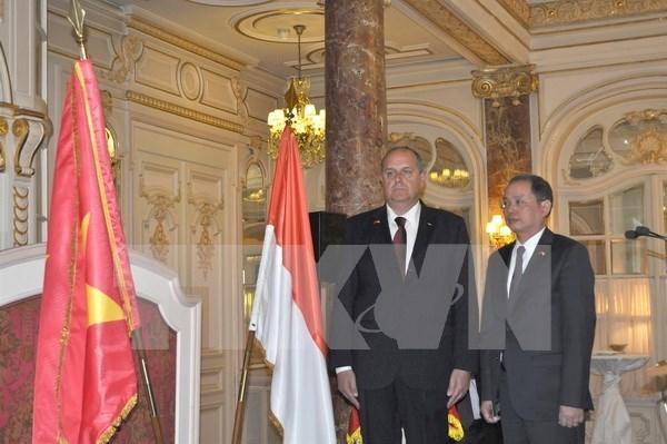 Ouverture du bureau du consul honoraire du Vietnam a Monaco hinh anh 1