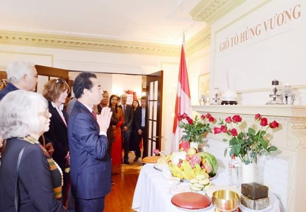 Les rois fondateurs Hung honores aussi au Canada hinh anh 1