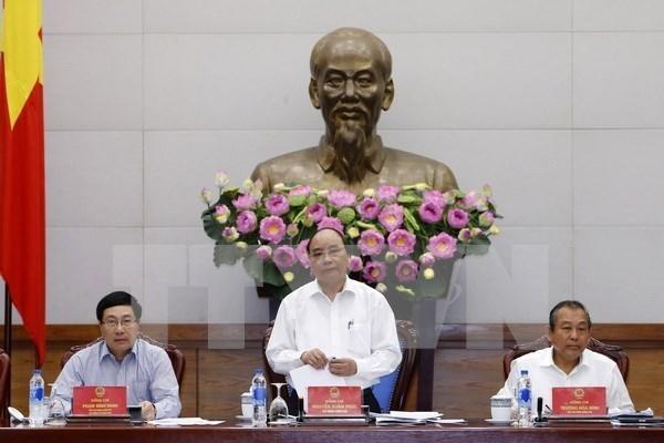 Le PM demande de supprimer les obstacles a la production et au commerce hinh anh 1