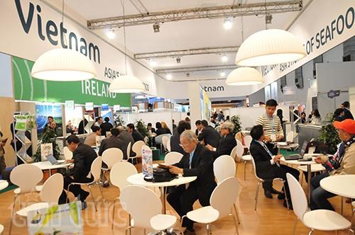 Le Vietnam present a Seafood Expo Global a Bruxelles hinh anh 1