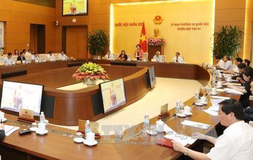 Communique de la 47e reunion du Comite permanent de l'AN hinh anh 1