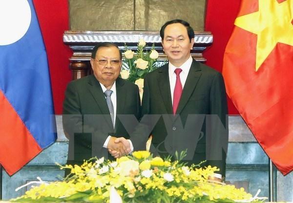 Entrevue Tran Dai Quang-Bounnhang Vorachit hinh anh 1