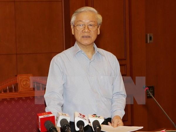 Dixieme session du Comite central de pilotage de la lutte contre la corruption hinh anh 1
