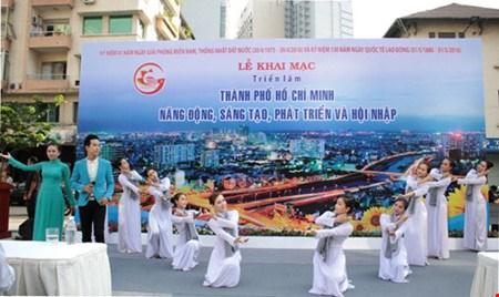 Expositions a Ho Chi Minh-Ville a l'occasion du 30 avril et du 1er mai hinh anh 1